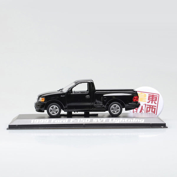 GreenLight 1:43 1999 Ford F-150 SVT Lightning - Black Diecast Model Car 86085