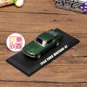 GreenLight 1:43 Bullitt (1968) - 1968 Ford Mustang GT Fastback Diecast Model Car 86431