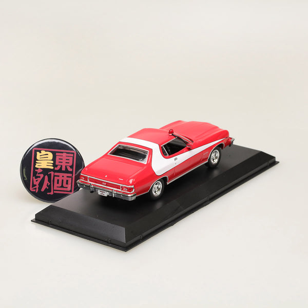 GreenLight 1:43 Starsky and Hutch (TV Series 1975-79) - 1976 Ford Gran Torino Diecast Model Car 86442