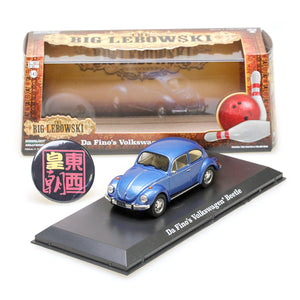 GreenLight 1:43 The Big Lebowski (1998) - Da Fino's Volkswagen Beetle Diecast Model Car 86496