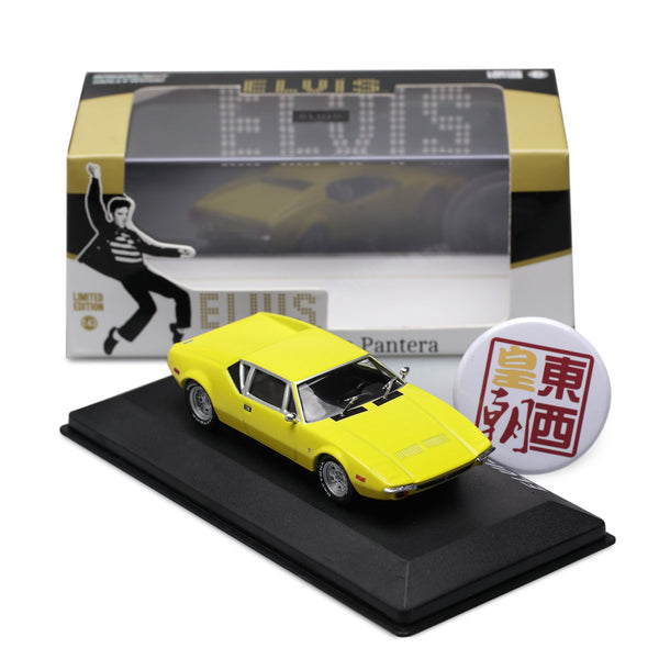 GreenLight 1:43 Hollywood - Elvis Presley (1935-77) - 1971 De Tomaso Pantera Diecast Model Car 86502