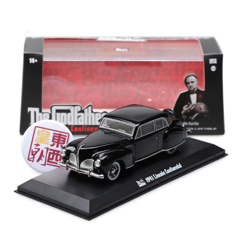 GreenLight 1:43 The Godfather (1972) - 1941 Lincoln Continental 86507
