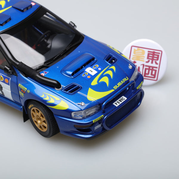 AUTOart 1:18 SUBARU IMPREZA WRC 1997 #3 COLIN MCRAE/NICKY GRIST (RALLY OF SAFARI) 89792