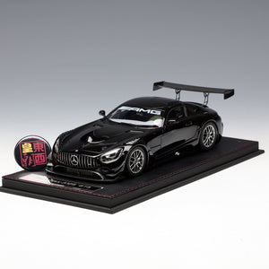Frontiart AvanStyle 1:18 Mercedes Benz AMG GT3 2016 Black Limited 350 Resin Model Car AS002-04
