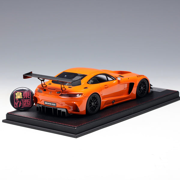 Frontiart AvanStyle 1:18 Mercedes Benz AMG GT3 2016 Orange Limited 150 Resin Model Car AS002-09