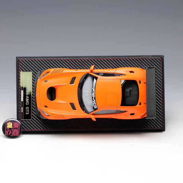 Frontiart AvanStyle 1:18 Mercedes Benz AMG GT3 2016 Matte orange Limited 150 Resin Model Car AS002-81