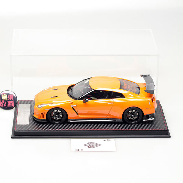 Frontiart AvanStyle 1:18 Nissan GT-R R35 Nismo Orange Resin Model Car AS003-34