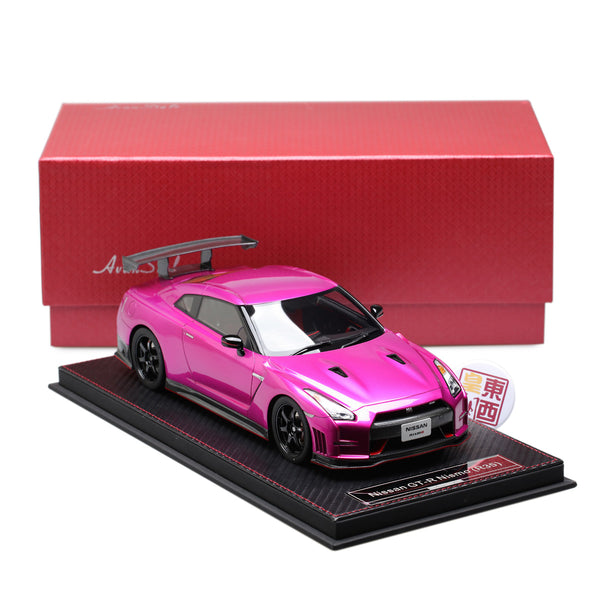Frontiart AvanStyle 1:18 Nissan GT-R R35 Nismo Pink purple Resin Model Car AS003-67