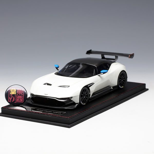 Frontiart AvanStyle 1:18 Aston Martin Vulcan White Resin Model Car AS014-02