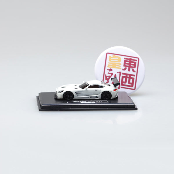 Frontiart AvanStyle 1:87 Mercedes Benz AMG GT White Resin Model Car AS017-02