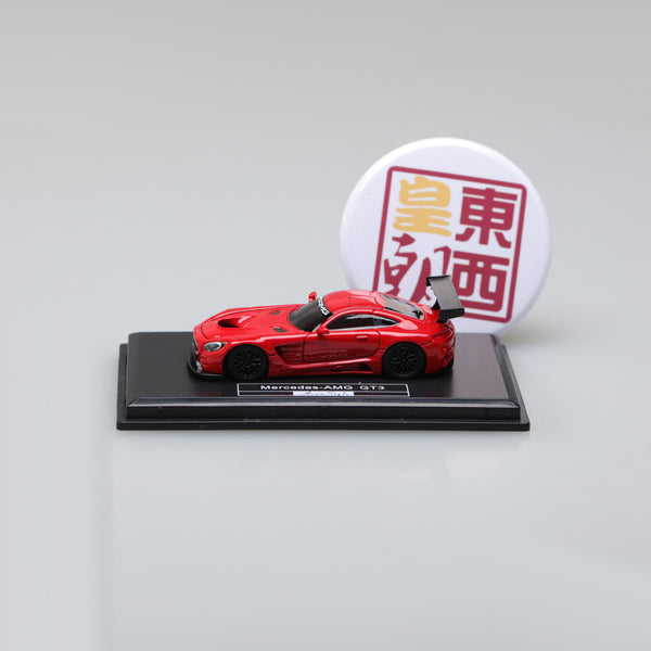 Frontiart AvanStyle 1:87 Mercedes Benz AMG GT Red Resin Model Car AS017-06