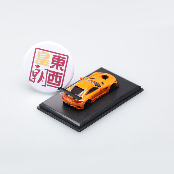 Frontiart AvanStyle 1:87 Mercedes Benz AMG GT Orange Resin Model Car AS017-34