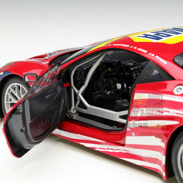 Hot Wheels Elite 1:18 Ferrari 458 Italia GT2 LeMans #61 Diecast Model Car BCT78