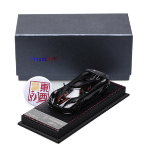 Frontiart 1:43 Koenigsegg Agera R Limited 150 black Resin Model Car F014-04