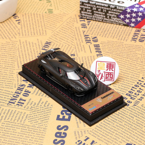 Frontiart 1:43 Koenigsegg Agera R Limited 150 matt black Resin Model Car F014-05