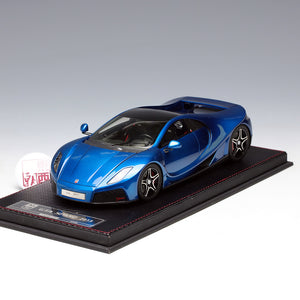 Frontiart 1:18 Spano GTA Year 2013 Limited 50 Electroplated Blue Metallic Resin Model Car F029-31