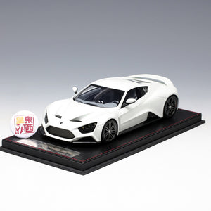 Frontiart 1:18 Zenvo St1 2009 White Resin Model Car F040-29