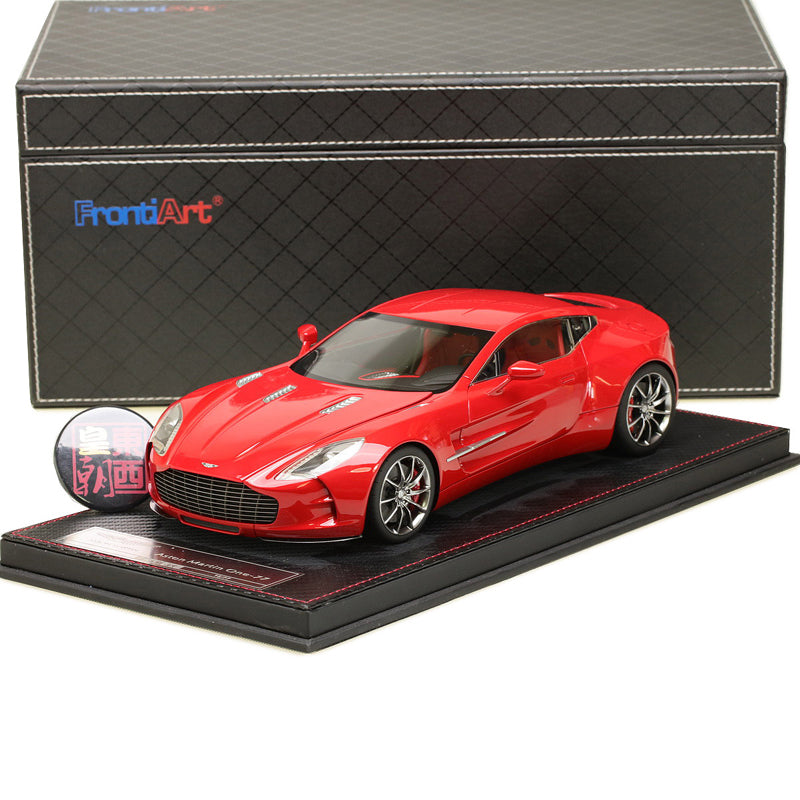Frontiart 1:18 Aston Martin ONE 77 Red Resin Model Car FA007 06 ...