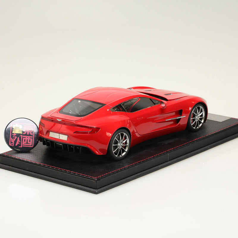 ... Frontiart 1:18 Aston Martin ONE 77 Red Resin Model Car FA007 06 ...