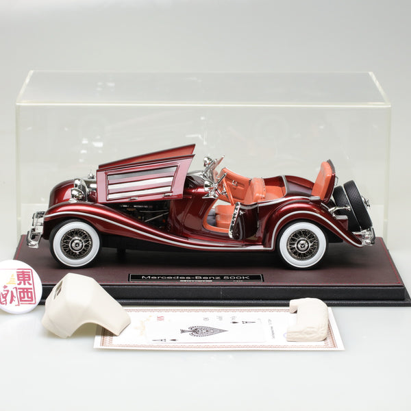 Frontiart 1:18 Mercedes Benz 500K Cabriolet Open Close Resin Model Car FA011-59