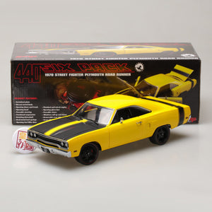GMP 1:18 GMP 1970 Plymouth Road Runner Street Fighter 6-Pack Attack GMP-18837
