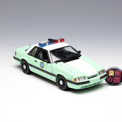 GMP 1:18 1988 Ford Mustang United States Border Patrol SSP Diecast Model Car GMP-18845