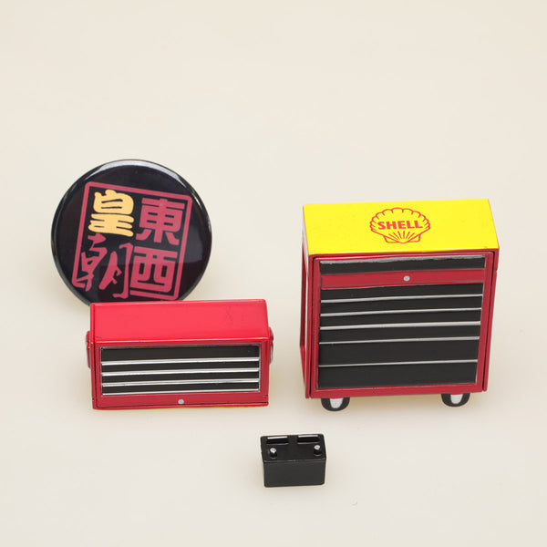 GMP 1:18 Shop Tool Set #1 - Shell Oil GMP-18869