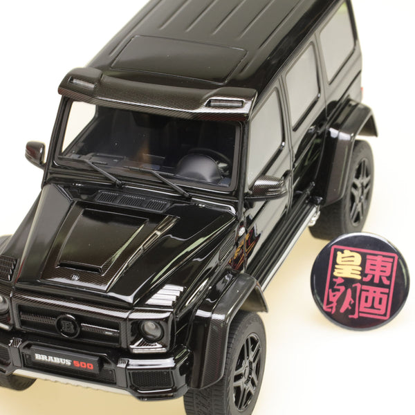 GT Spirit 1:18 Mercedes Benz Brabus 500 4X4² Black Resin Model Car GT143