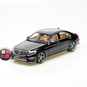 GT Spirit 1:18 Mercedes-Benz S65 Brabus 900 Rocket Black Resin Model Car GT172