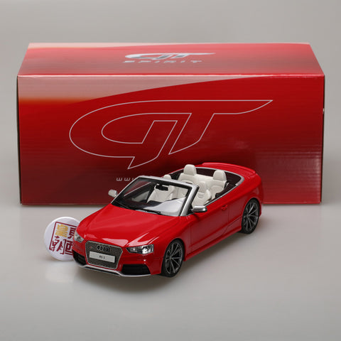 GT Spirit 1:18 AUDI RS5 CONVERTIBLE GT724