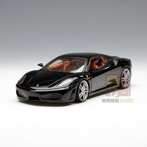 Hot Wheels 1:18 Ferrari F430 Coupe Black Diecast Model Car H3070