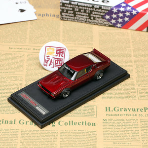 Ignition 1:43 Nissan LB-WORKS Kenmary 2Door Red Metallic Resin Model Car IG0723