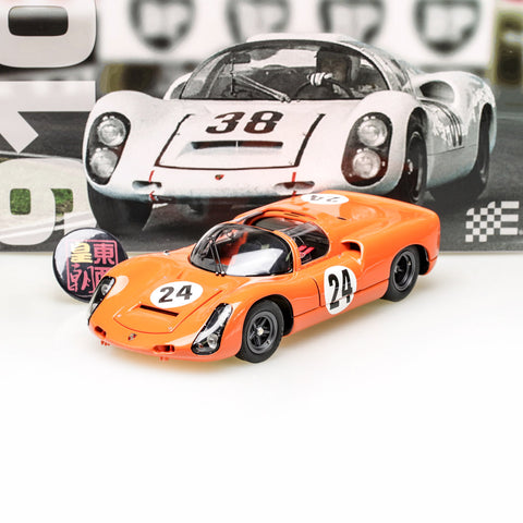 EXOTO 1:18 1966 Porsche 910 #24 Hill Climb Diecast Model Car MTB00063C