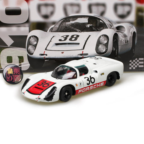 EXOTO 1:18 1967 Porsche 910 #36 Sebring Winner Diecast Model Car MTB00066B