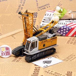 NZG 1:50 Liebherr HS855HD Duty-Cycle Crawler Crane w/Drag Bucket Diecast Model Car 728