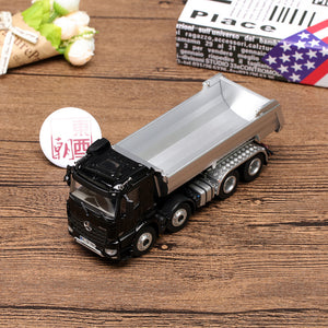 NZG 1:50 Mercedes-Benz Arocs 8x4 Halfpipe Kipper black Diecast Model Car 905/50