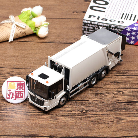 NZG 1:50 Mercedes Benz Econic Faun Variopress Garbage Truck Diecast Model Car 908/40