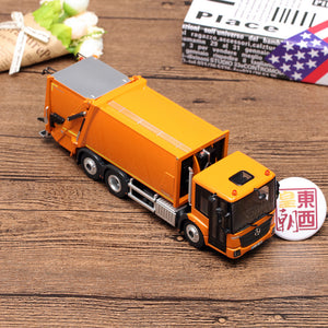 NZG 1:50 Mercedes Benz Econic Faun Variopress Garbage Truck Diecast Model Car 908/65