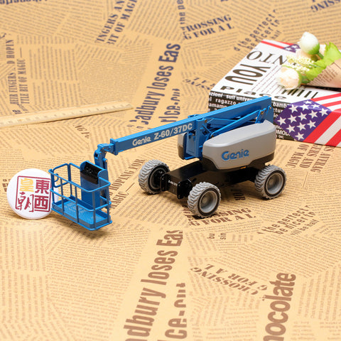 NZG 1:32 Genie Z60/37DC Telescopic boom lift Diecast Model Car 9561