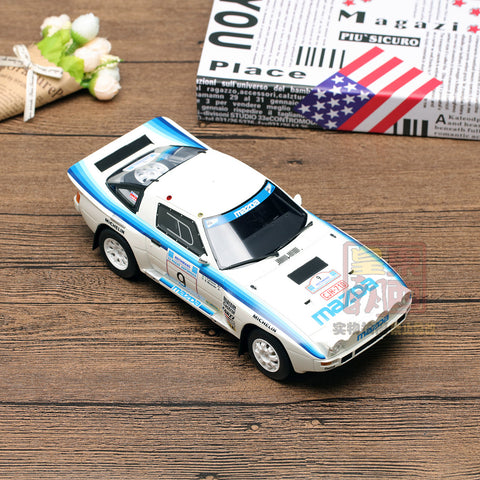 OTTO 1:18 Mazda RX 7 Groupe B #9 Acropolis Rally 1985 Resin Model Car OT226