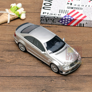OTTO 1:18 Mercedes Benz CLK63 Coupe AMG Black Series Silver Resin Model Car OT227