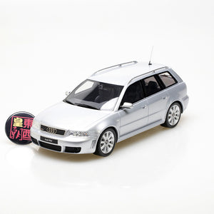 OTTO 1:18 Audi A4 RS4 B5 Avant in Silver Resin Model Car OT521