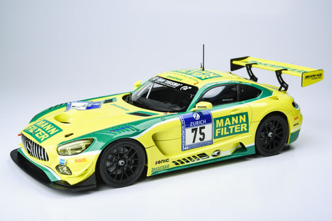 PARAGON 1:18 Mercedes-AMG GT3: Mann Filter / Zakspeed #75 (DE) 2016 6th: 24hr Nurburgring PA-88019