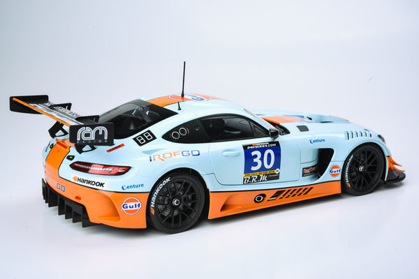 PARAGON 1:18 Mercedes-AMG GT3: Ram Racing #30 (UK) 2016 2nd:24 hours Paul Ricard PA-88021