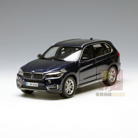 PARAGON 1:18 BMW X5 Imperial blue Diecast Model Car PA-97071