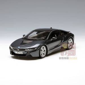 PARAGON 1:18 BMW i8 Sophisto grey + Frozen grey Diecast Model Car PA-97082
