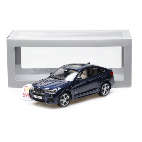 PARAGON 1:18 BMW X4 SUV Imperial blue (LHD) Diecast Model Car PA-97092