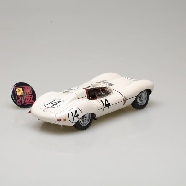 EXOTO XS 1:18 1956 Jaguar D-Type #14 Short Nose 3rd Sebring 12 Hours Diecast Model Car RLG89004