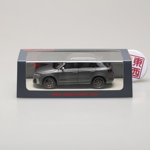 SPARK 1:43 Audi RS Q3 2015 Matt Grey S4457