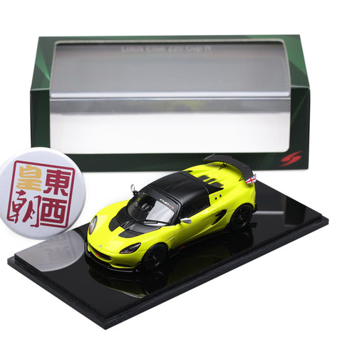 SPARK 1:43 Lotus Elise 22 Cup R Day Glow Green S4899